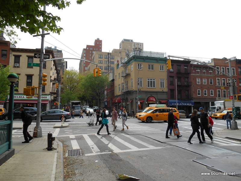 25th Street and 8th avenue Chelsea NY 2014