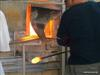 Along with other touristic sites is that of glass blowing
