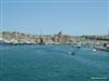 The harbor with yachts in docked near the main casino of