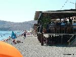 Times have changed and so has the beach at Eressos since my