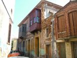 One of the noted parts of the architecture on Chios is the