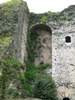 This is the inside view of the castle wall that surrounds
