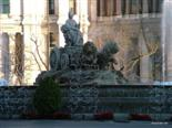 You will find plenty of circular water fountains in Madrid