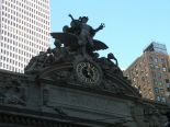 The clock over the Grand Central train station.